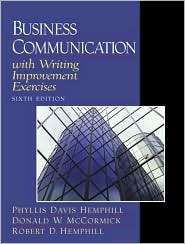 Business Communication with Writing Improvement Exercises, (0130400211