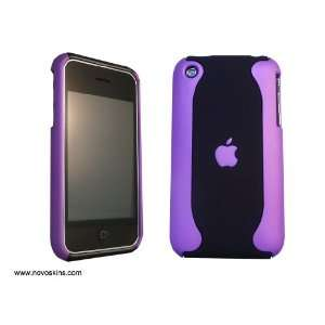 iPhone 3G/3GS Hard case Purple & black Flux Cell Phones
