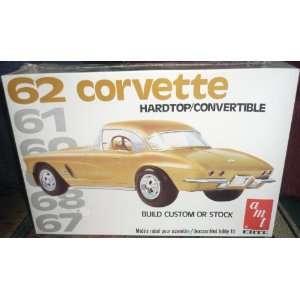 6553 AMT 62 Corvette Hardtop/Convertible 1/25 Scale Plastic model kit