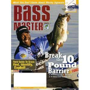 Bass Master April 2010 Break the 10 Pound Barrier, What