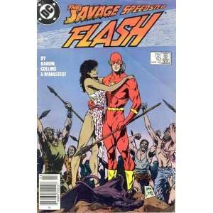 Flash 10, March 1988   comic book DC Books