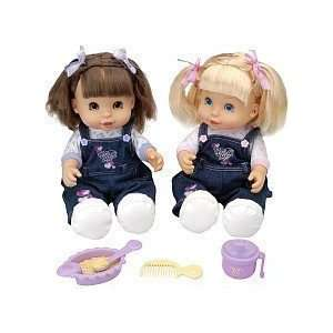 Hispanic Only Twin TOO CUTE Dolls: Toys & Games