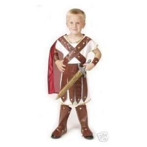 Roman Soldier Greek Gladiator Boy Dressup Costume Halloween Nativity