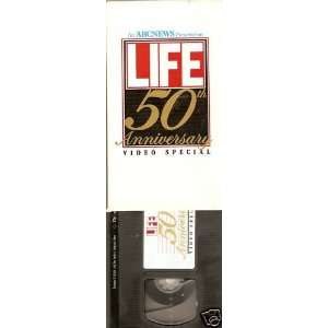 ABC NEWS Life 50th Anniversary Video Special VHS