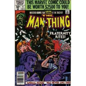 The Man Thing #6 Comic Book