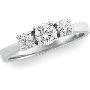 14K White Gold Diamond Band Ring DivaDiamonds Jewelry