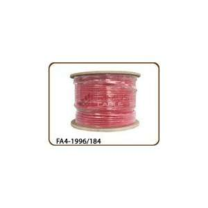 Fire Alarm Cable Shielded FPLP CMP 18AWG 4 Conductor PVC