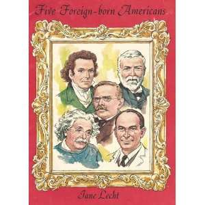 Five foreign born Americans (Reading round table) Jane