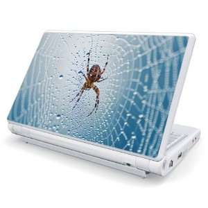 Dewy Spider Design Skin Cover Decal Sticker for Dell Mini