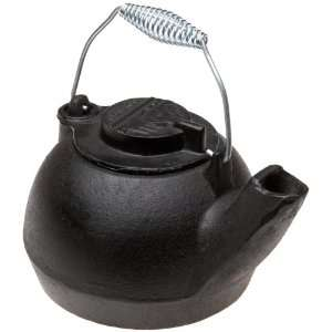 10129 Pre Seasoned 2 Quart Cast Iron Tea Kettle Kitchen & Dining