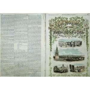 1858 Bridal Song Music Score Berlin Views Linden Trees