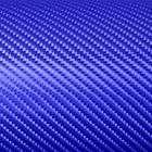 3D Blue Carbon Fiber Vinyl stickers Decals 50X100cm