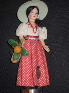 VTG EROS MADE IN ITALY DOLL REPUBLICA DOMINICANA TAGGED