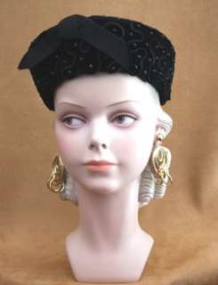 Rare DECOEYES LOLA Vintage 1920 1950 Mannequin Head Bust Display