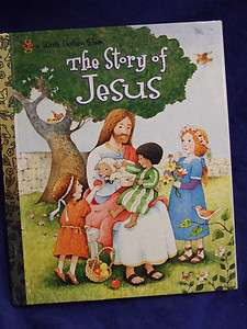 FIRST EDITION 2004THE STORY OF JESUS LITTLE GOLDEN BOOK NEW