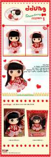 Lovely Cute 18cm Collectible Doll Strawberry DDUNG