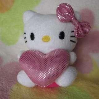 2Pcs Soft Small HelloKitty Girls Kid Rare Plush Doll Toy Best Nice
