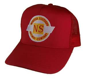 Norfolk Southern Railroad Embroidered Cap Hat 40 0099RM