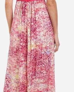 448 BCBG MAX AZRIA KAI Strapless Empire Waist Maxi Dress Evening Gown