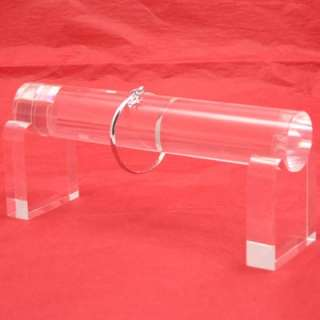 Solid Clear Acrylic Bracelet Watch Display Stand