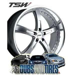 18 Inch 18x8 TSW wheels JARAMA HyperSilver wheels rims