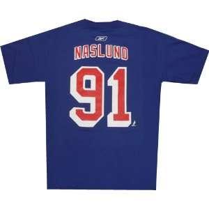 Markus Naslund New York Rangers NHL Reebok Player T Shirt