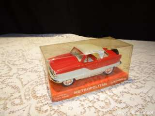 NASH Hard Top, PROMO Scale Model Car by Hubley NIB MINT