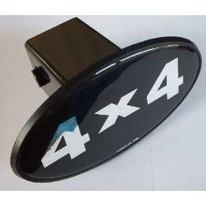 4 x 4 Trailer Hitch Cover Receiver Plug for Cars, Trucks