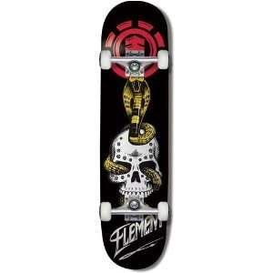 Element Skateboards VENOM LOGO TWIG Complete Skateboard: