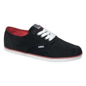 Element Skateboard Shoes Topaz   Black/Red   Size 8