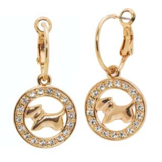 Show off your love for dogs by adding this adorable pair of earrings