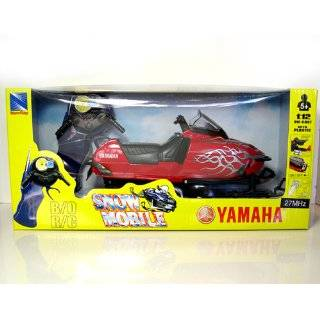 Reviews Yamaha SRX 700 Remote Control Snowmobile RED by New Ray