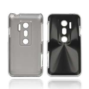 HTC EVO 3D New Aluminum Metal Hard Case Cover Black Cell