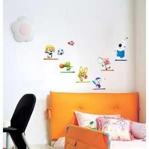 Pororo Deco Mural Sticker Wall Paper PSS 58554
