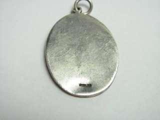 Artisan Sterling Silver 925 Maiden Girl Pendant NR 6299