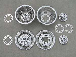 16 / 16.5 FORD F350 Dually Wheel Simulators BOLT ON