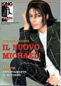 MICHAEL JACKSON King Michael FAN CLUB MAGAZINE #7 Italy