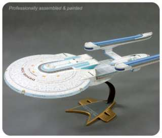 the STAR TREK USS ENTERPRISE NCC 1701 B 1/1000 scale model (18 long