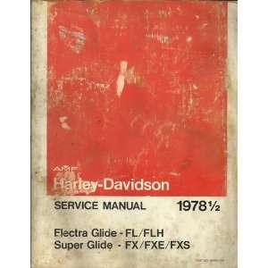 Glide   FX/FXE/FXS, Part No. 99482 78E): AMF Harley Davidson: Books