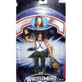 LITA   WWE Wrestling Exclusive Wrestlemania 21 PPV Figure by Jakks