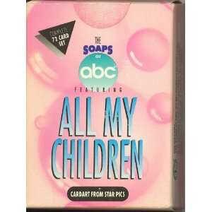All My Children   Complete 72 Card Factory Sealed Boxed Set (Cardart