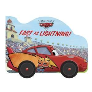 Fast as Lightning (Disney/Pixar Cars) (9780736427036) RH