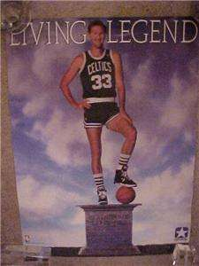 1980s Larry BIRD **Living Legend*Converse POSTER 17x23