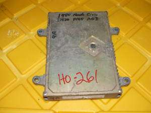 88 1988 Honda Accord Engine Computer 37820 PM5 A030 ECU