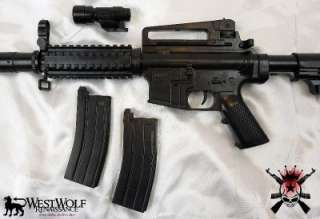 NEW U.S. Military Army/Marines M 16 Airsoft Assault Rifle/Gun/Prop