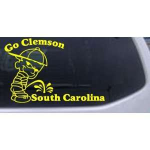 Go Clemson Pee On South Carolina Car Window Wall Laptop Decal Sticker