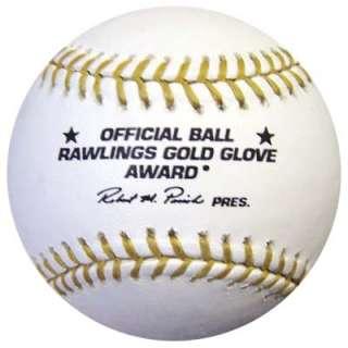AUTOGRAPHED SIGNED MLB GOLD GLOVE BASEBALL 9X GG PSA/DNA