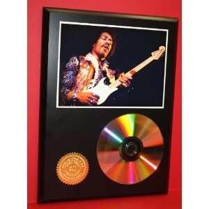 Jimi Hendrix Gold CD Disc Display Unique Wall Art   Award