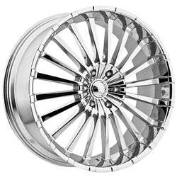 20 Inch Panther 911 Chrome Wheels Rims 5x115 +35 / Cadillac CTS DTS