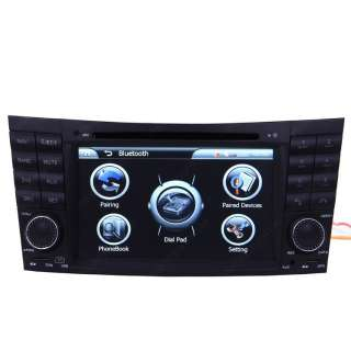 Mercedes Benz E class W211 02 08 Car GPS Navigation Radio  IPOD TV